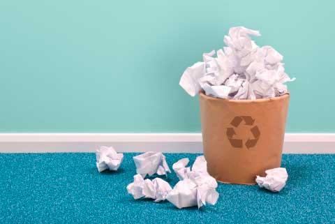 Giornata mondiale dell'ambiente in ufficio.