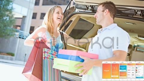Droppit, l'app che ti consegna la spesa in auto